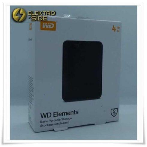 Western Digital WD Elements Portable HDD 4TB USB 3.0 (WDBU6Y0040BBK-WESN)
