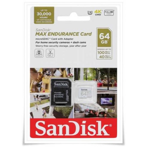 SanDisk Max Endurance 64GB microSDXC SDSQQVR-064G-GN6IA