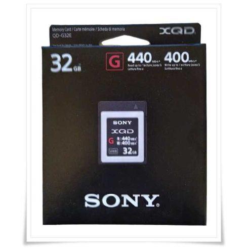 Sony XQD Memory Card G 32GB (QDG32E)