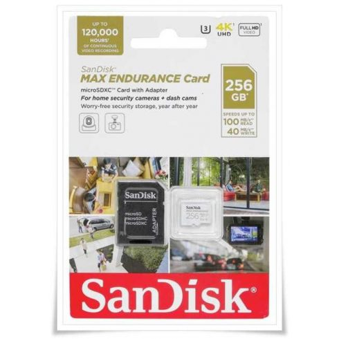 SanDisk Max Endurance 256GB microSDXC SDSQQVR-256G-GN6IA